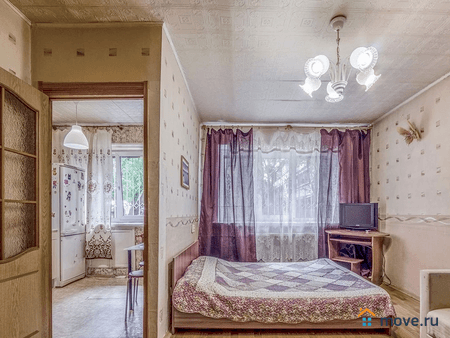 Сдаю посуточно квартиру, 31 м², Москва, проезд Булатниковский, 2Вк2